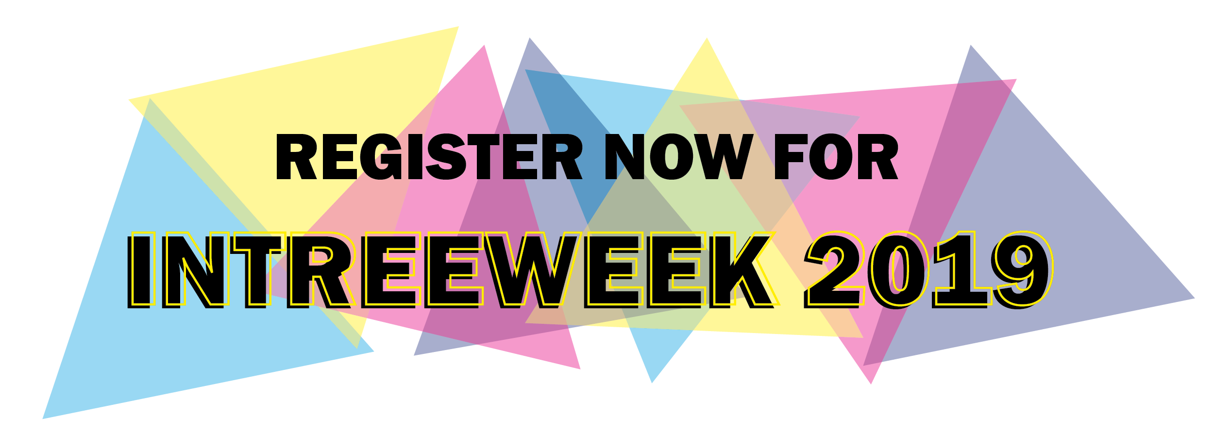 Register now for Intreeweek 2019